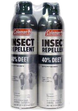 Coleman 40% Deet Insect Repellent Spray