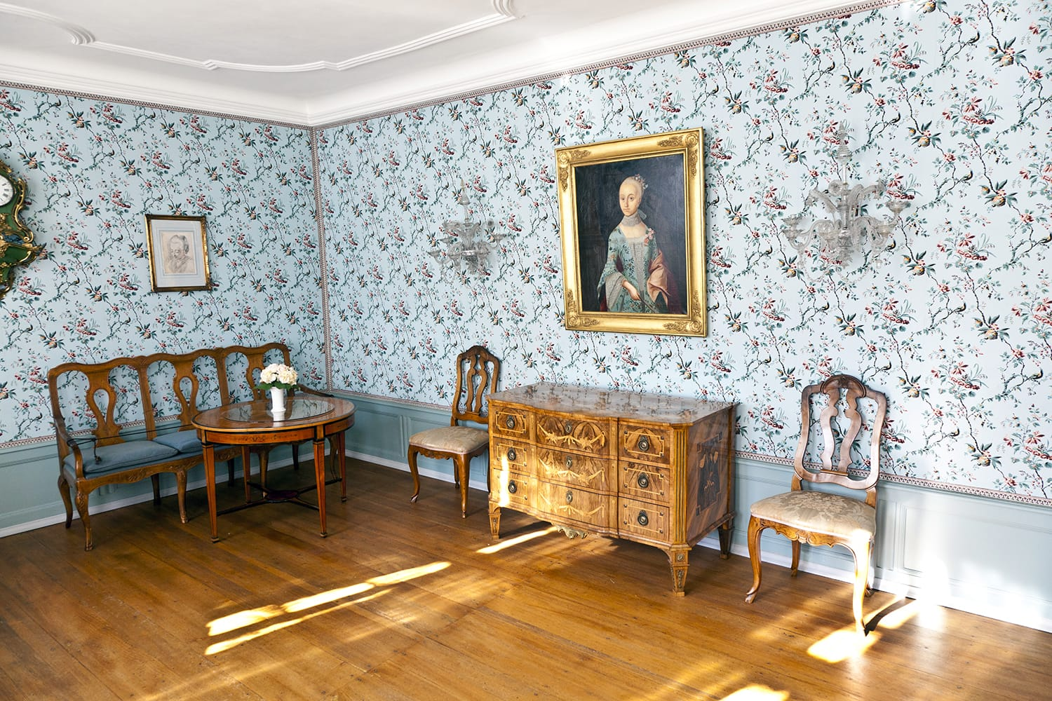 Cornelias Room in the Goethe museum in Frankfurt, Germany