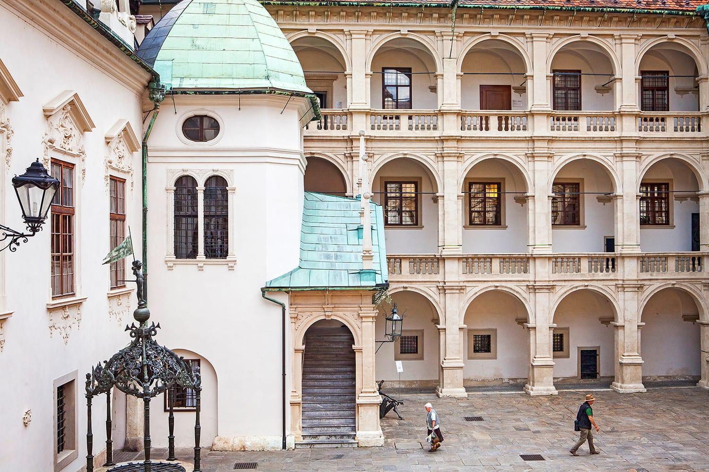 Landhaus Courtyard in Graz, Austria