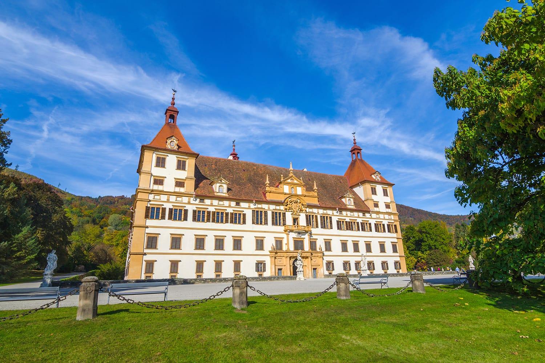 Eggenberg Palace in Graz, Styria region, Austria