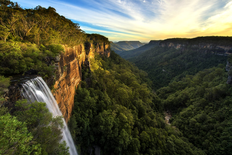 Fitzroy Falls in Kangaroo Valley, Australia