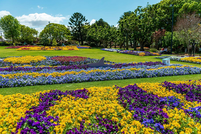 Flower Festival in Toowoomba, QLD, Australia