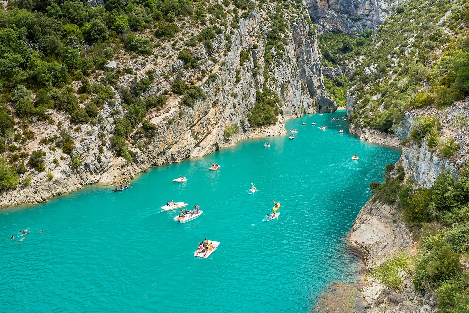 Gorges du Verdon in France