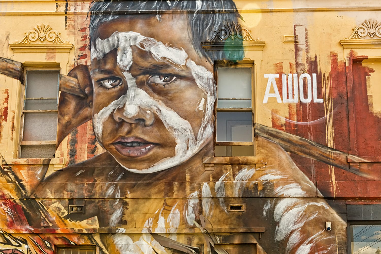 Street art in Melbourne, Australia