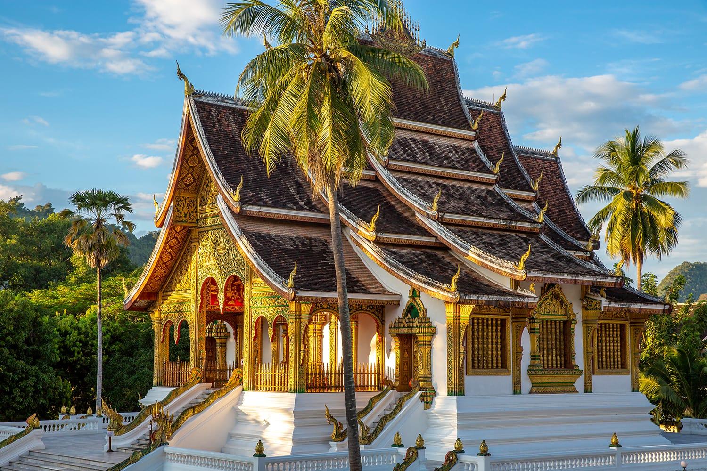 The Haw Pha Bang Temple or Royal Palace of Luang Prabang, Laos