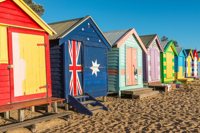Brighton Beach Huts, Australia
