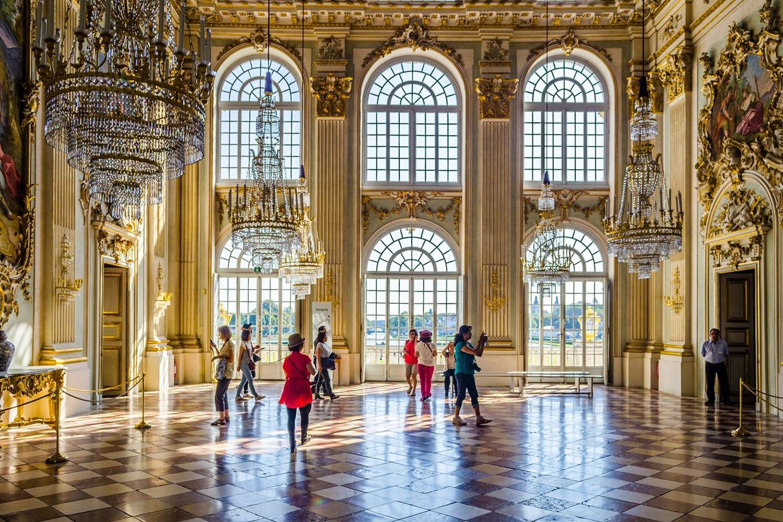 Inside nymphenburg castle in Munich, Germany