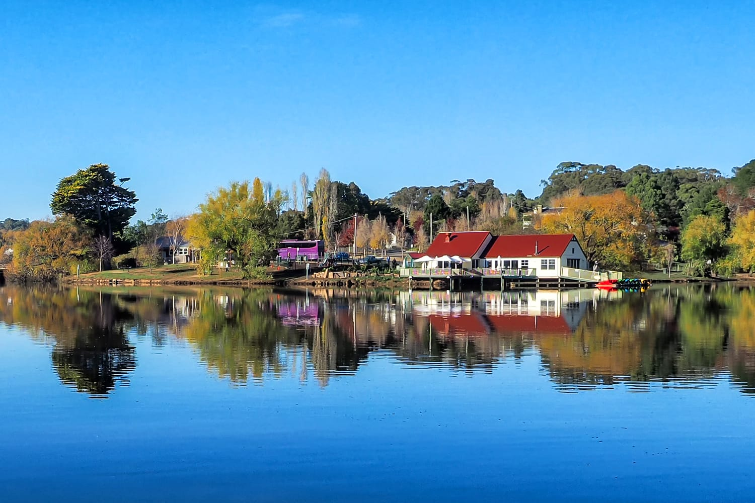 Lake Daylesford in Australia
