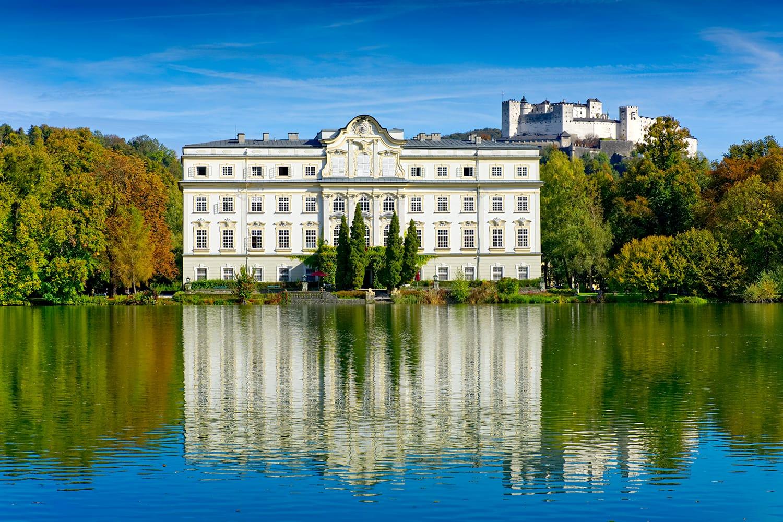 Leopoldskron Palace in Salzburg, Austria