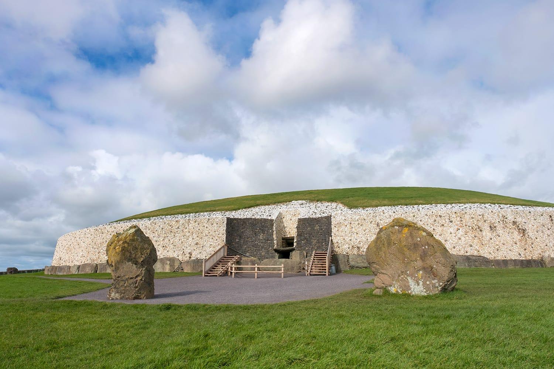 Newgrange Megalithic Passage Tomb in Ireland