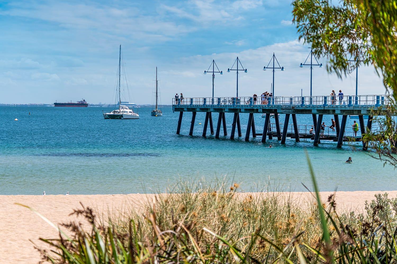 Jetty in Rockingham, Westerns Australia