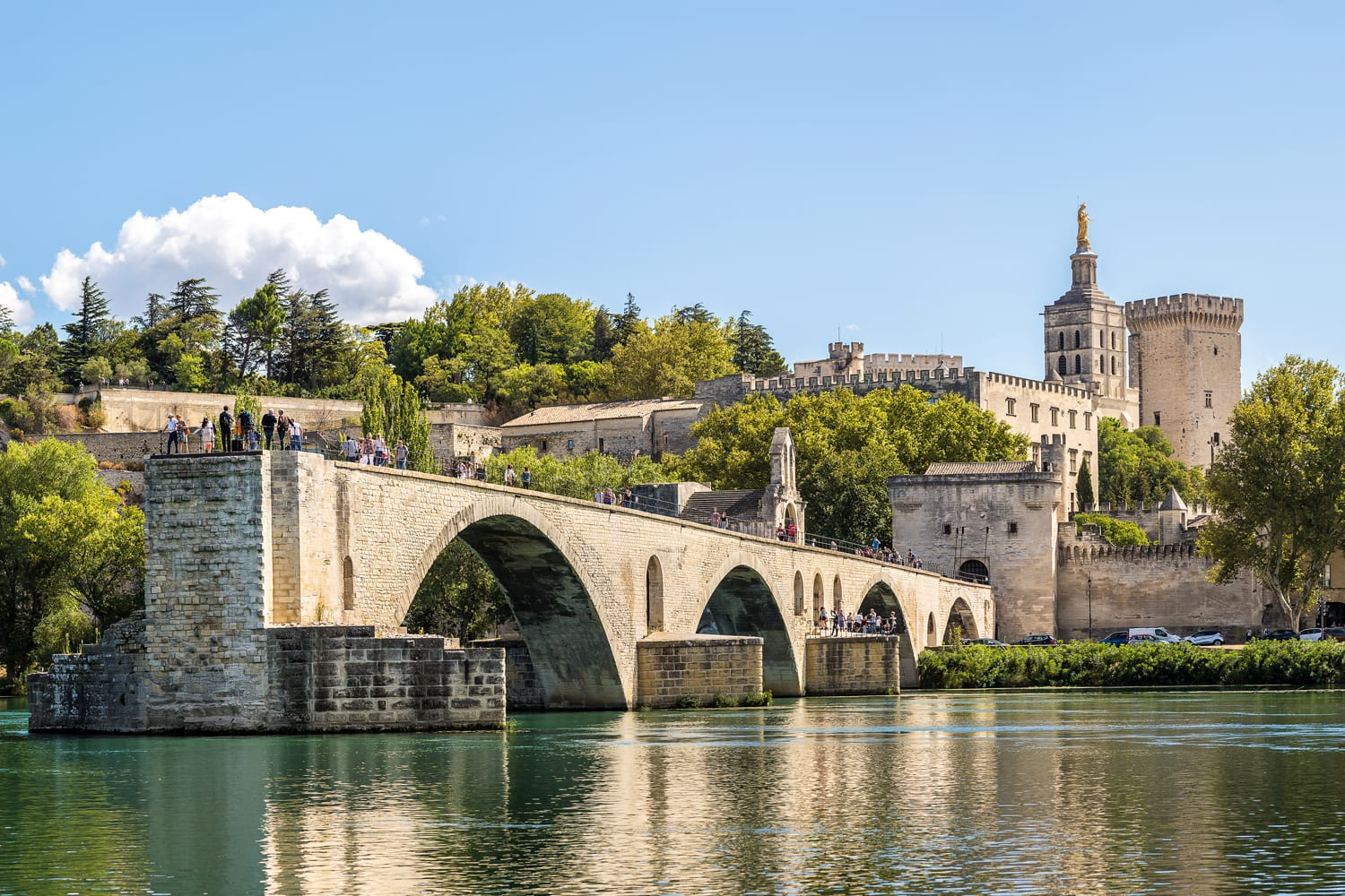 Saint Benezet bridge in Avignon, France