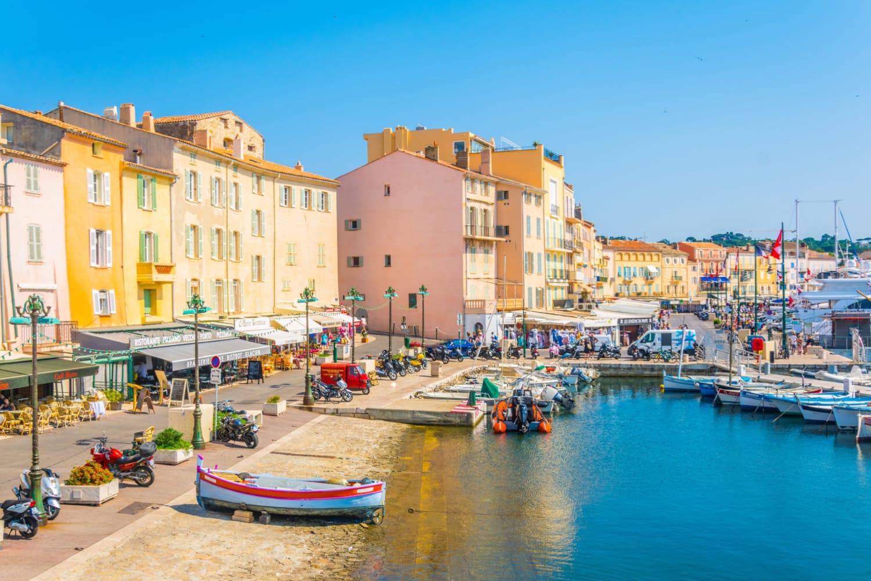 Марина в Сен-Тропе, Франция Куда поехать из Марселя?