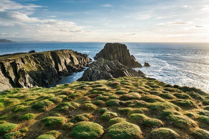 Cliffs at Malin Head Ireland