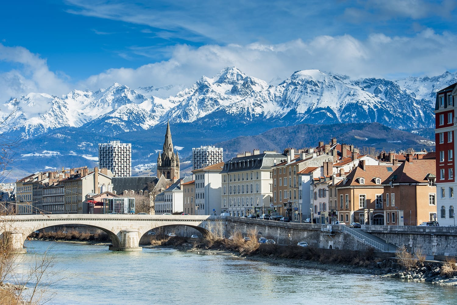 Grenoble in France