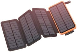Hiluckey Outdoor Portable Solar Charger
