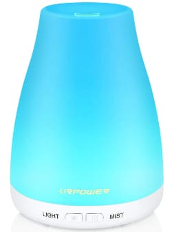 Urpower Ultrasonic Essential Oil Diffuser & Humidifier