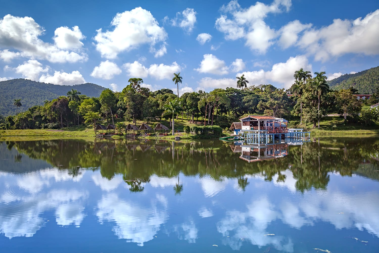 View of Las Terrazas in Pinar del Rio Province, Cuba