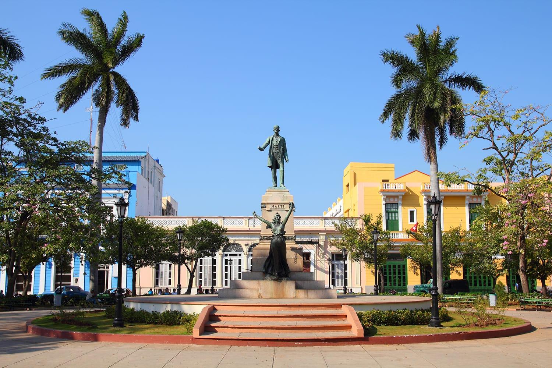 Main square in Matanzas, Cuba