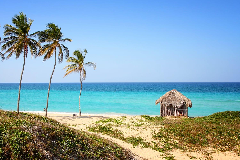 Playa Megano in Playas del Este, Cuba