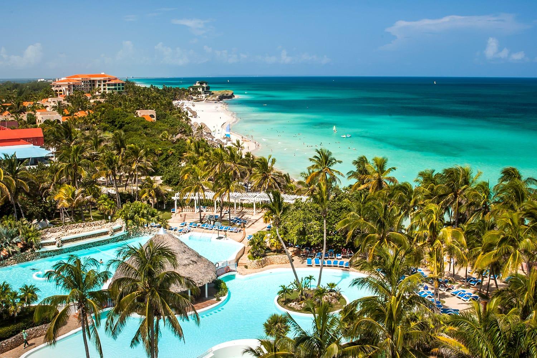 Resorts at Varadero Beach in Cuba