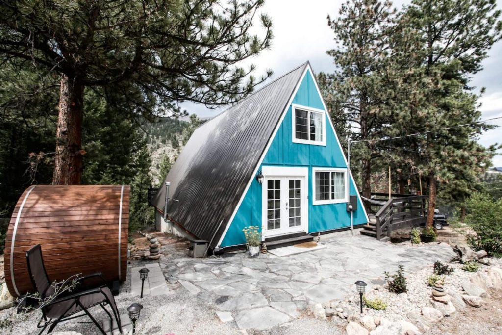 Airbnb Cabin in Colorado, USA