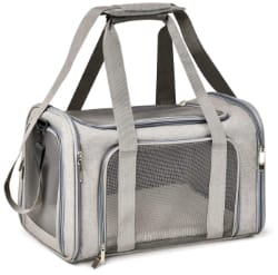 Henkelion Soft Sided Collapsible Puppy Carrier