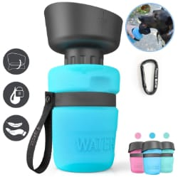 lesotc Dog Travel Water Bottle