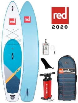 Red Paddle Co Sport MSL Inflatable Stand Up Paddle Board