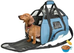 Tirrinia Soft Sided Pet Travel Carrier for Small Dogs