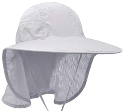 Lenikis Unisex Sun Hat with Neck Flap