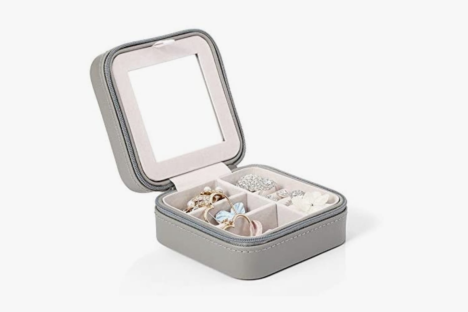 Vlando Portable Travel Jewelry Box