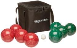 AmazonBasics Bocce Ball set