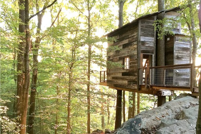 Beautiful Treehouse Airbnb in Georgia, USA