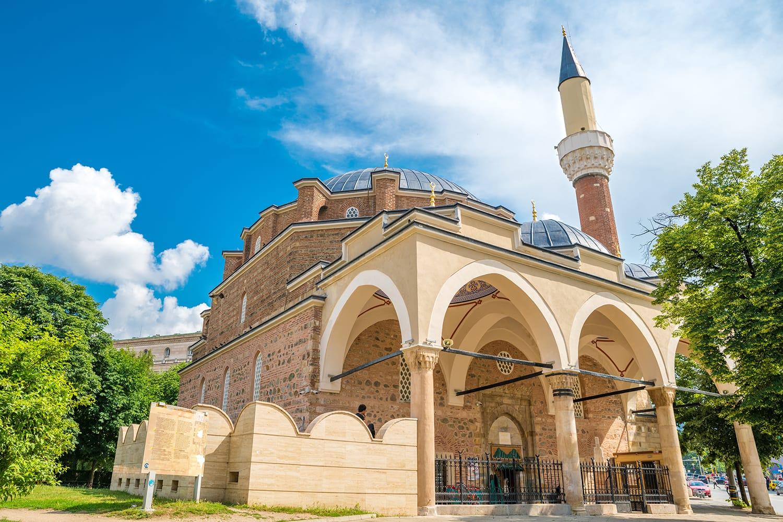 Banya Bashi Mosque in Sofia, Bulgaria