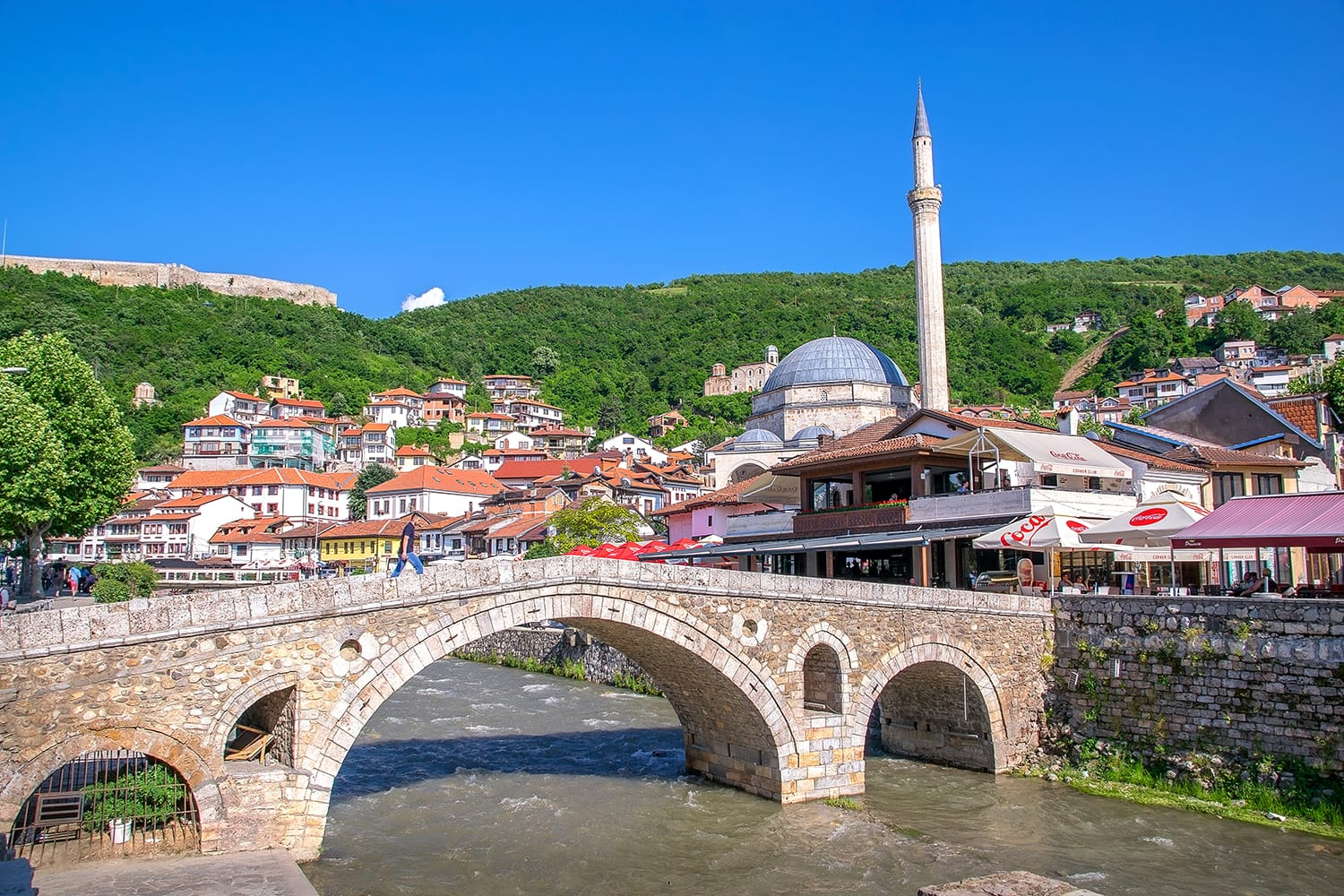 Prizren is a historic city located on the banks of the Prizren Bistrica river, and on the slopes of the Sar Mountains in the southern part of Kosovo.
