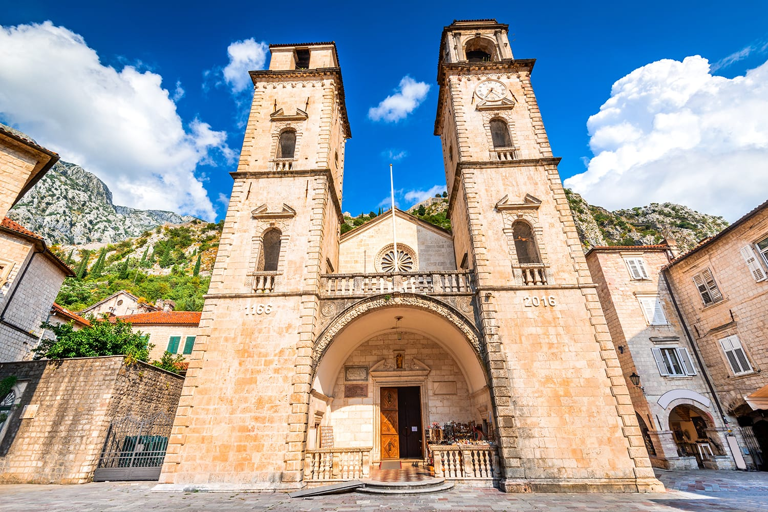 Cathedral of Saint Tryphon in Kotor, Montenegro