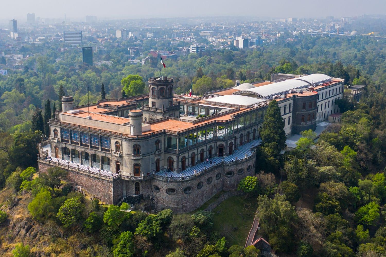 Chapultepec Castle (Castillo de Chapultepec) in Mexico City