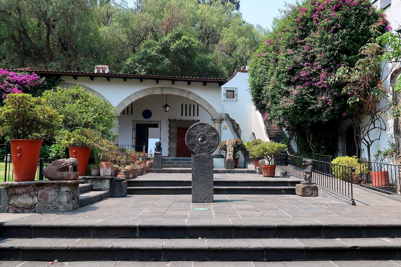 Dolores Olmedo Museum in Mexico City