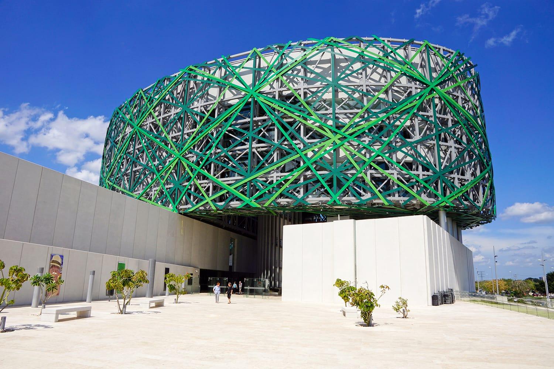El Gran Museo del Mundo Maya in Merida in Yucatan Mexico