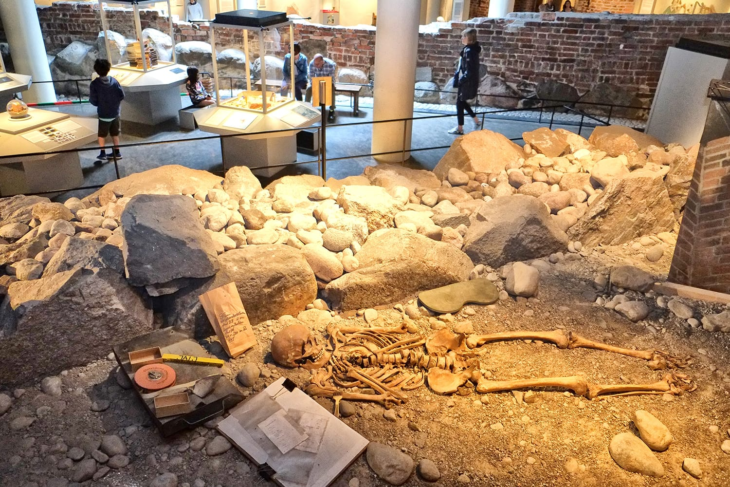 Medieval Museum. The museum is built around the findings from the largest excavation in Stockholm, Sweden