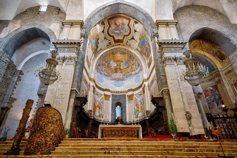 Catania Cathedral (Metropolitan Cathedral of Saint Agatha).