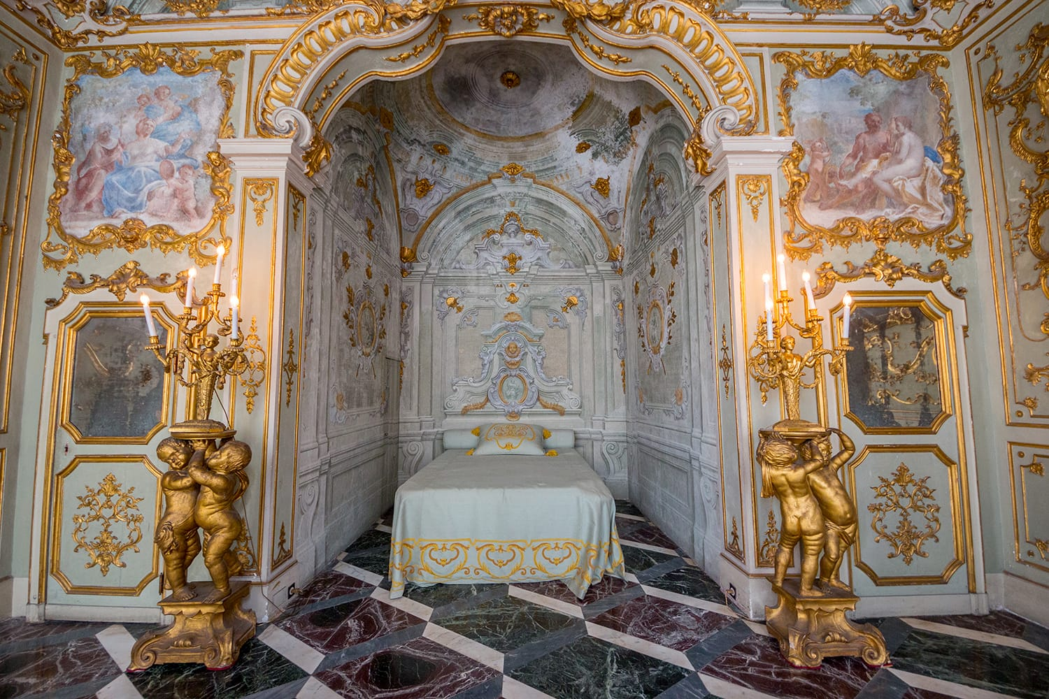 Palace Brignole-Sale known as Palace Rosso, the System of Palazzi dei Rolli, Genoa, Liguria, Italy