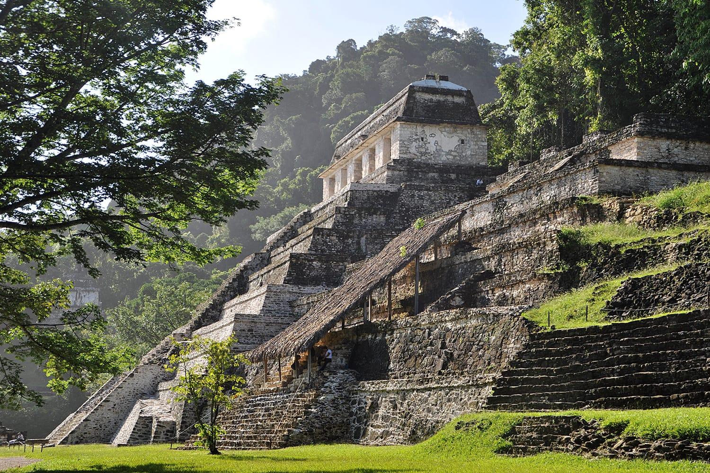 Mayan ruins of Palenque, Mexico