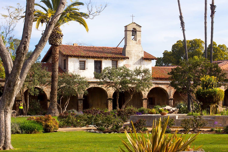 Mission at San Juan Capistrano, California, USA