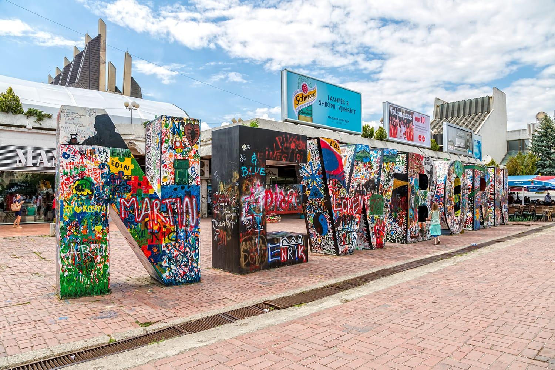 The Newborn Monument, is a typographic sculpture and tourist attraction in Pristina, Kosovo