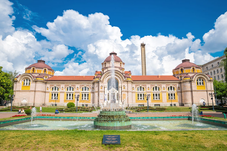 Old turkish bath transformed into regional history museum in Sofia, Bulgaria