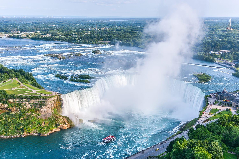 Niagara Falls in Canda and the USA
