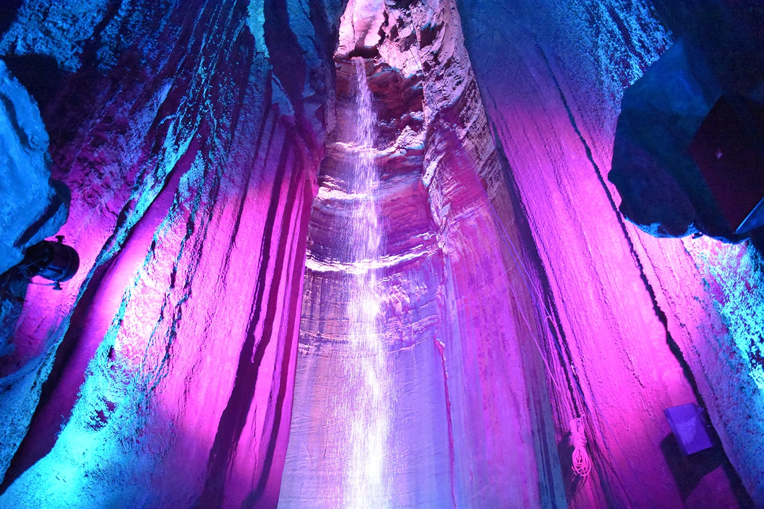 Ruby Falls in Chattanooga, Tennessee, USA