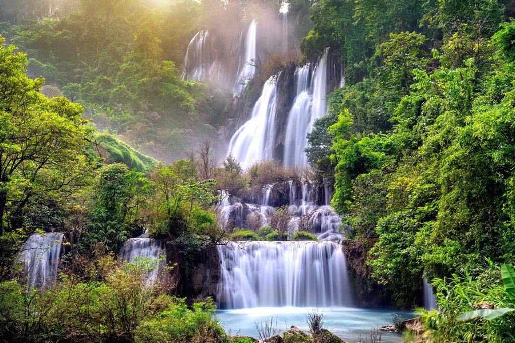 Thi Lo Su (Tee Lor Su) in Tak, Thailand
